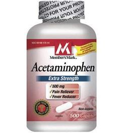 Капсулы Ацетаминофен