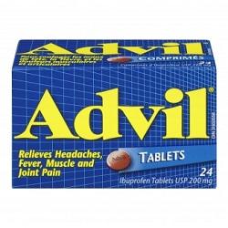 Противовоспалительное средство Адвил в таблетках