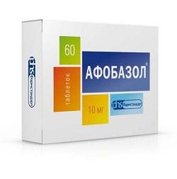 Таблетки Афобазол 10 мг
