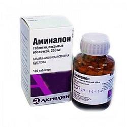 Таблетки Аминалон 250 мг