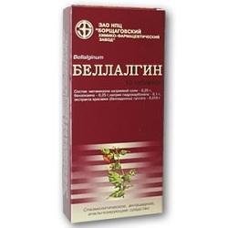 Таблетки Беллалгин