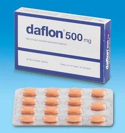 Таблетки Дафлон 500 мг