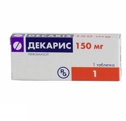 Таблетки Декарис 150 мг