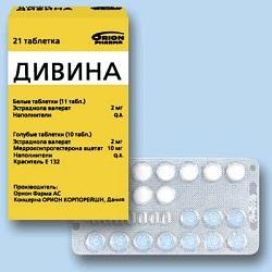 Таблетки Дивина