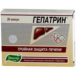 Капсулы Гепатрин