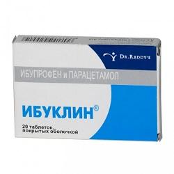 Таблетки Ибуклин (400  325 мг)