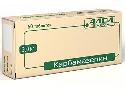 Таблетки Карбамазепин 200 мг
