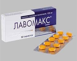 Лавомакс в таблетках
