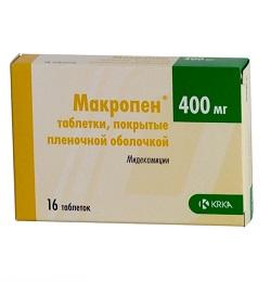 Макропен в таблетках