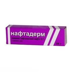 Линимент Нафтадерм