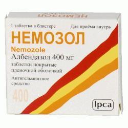 Немозол в таблетках 400 мг