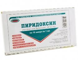 Раствор для инъекций Пиридоксин