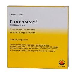 Концентрат для приготовления раствора для инфузий Тиогамма